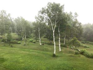 長野県須坂市にあるアクティブ峰の原(峰の原青少年山の家)視察