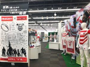 ラグビーがさらに盛り上がる – 渋谷区こども科学センター・ハチラボ特別展