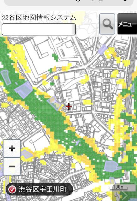 洪水ハザードマップ・浸水実績図がHPで確認できるようになりました